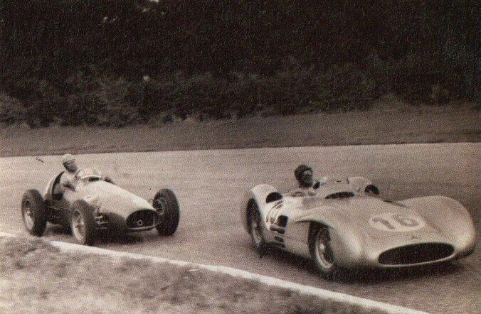 F1 aastal 1954: Fangio istus Mercedese hõbenoolde ja võttis rohkem võite kui vaja läks