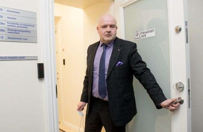 Siseminister Andres Anvelt on SKA kolimisega nõus, kui selleks eelarvest raha antakse.