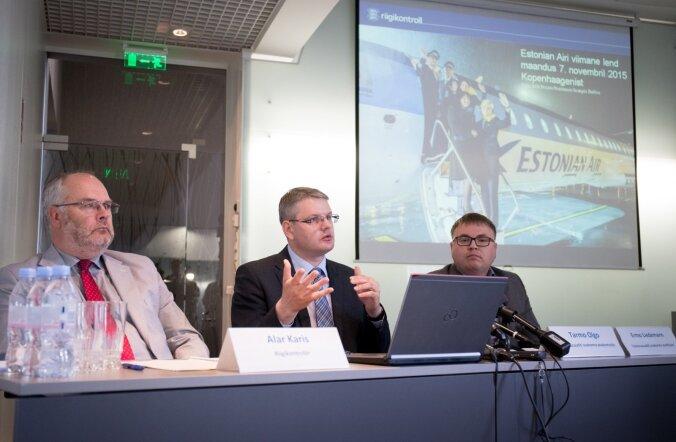 Riigikontroll tutvustas Estonian Airi auditit