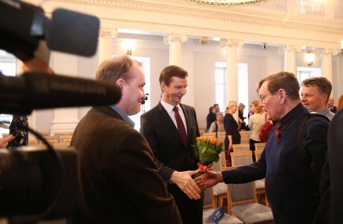 Volli Kalm valiti Tartu ülikooli rektoriks tagasi.