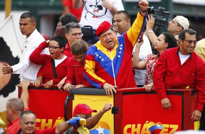 Hugo Chávez registreerus kolmandaks ametiajaks presidendikandidaadiks