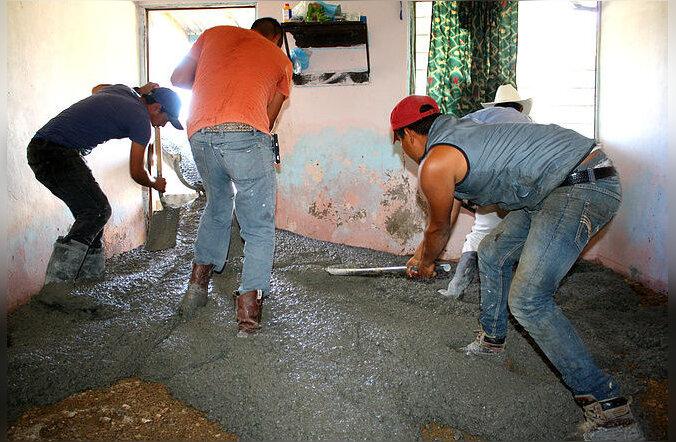 Kuidas mehhiklased betoonpõrandad said ja miks see hiinlastele kasuks ei tule