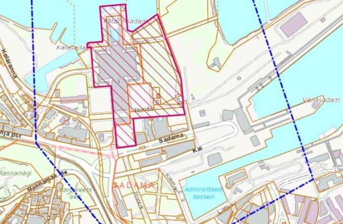 100 miljonit eurot maksev Tallinna linnahalli planeering võeti vastu