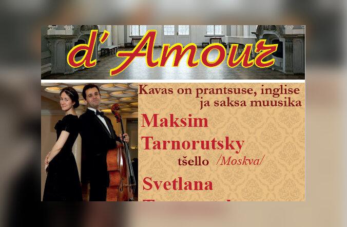 """В Кадриоргском дворце состоится концерт """"Salut d`amour"""""""