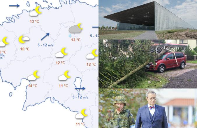 HOMMIKU-UUDISED: nädalavahetusel möllanud tormi tõttu on elektrita jätkuvalt üle tuhande majapidamise, lähipäevade ilm tuleb taas vihmasem