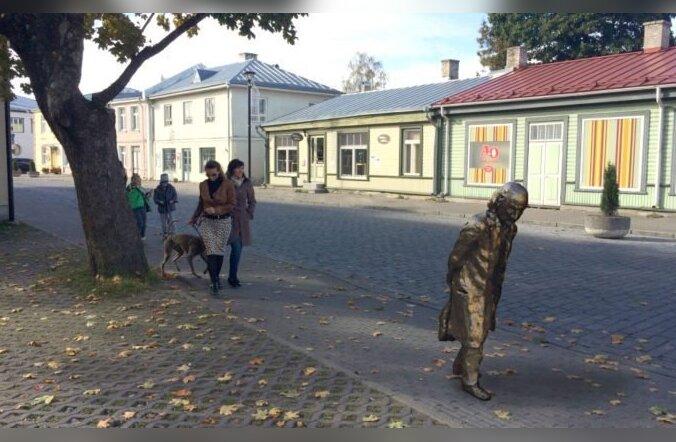 Tuntud skulptoreil valmis legendaarse Haapsalu Gunnari kuju kavand