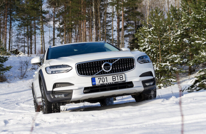 Motorsi proovisõit: Volvo V90 Cross Country - meistriteos näeb isasem välja