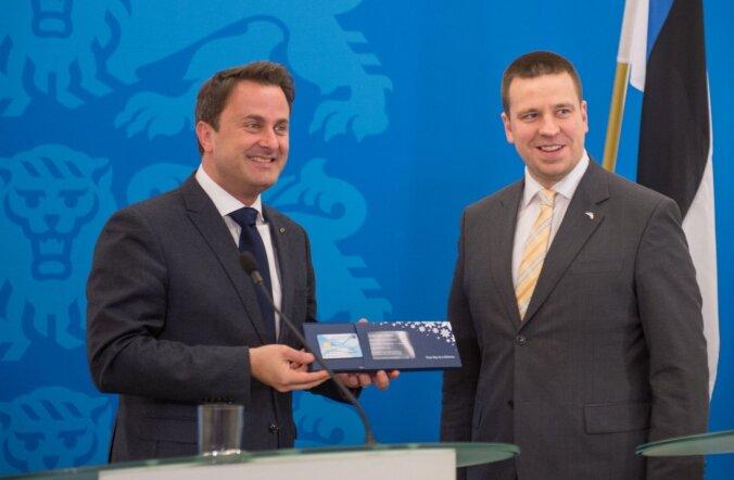 Ратас: Эстония и Люксембург — пионеры сотрудничества в цифровой сфере
