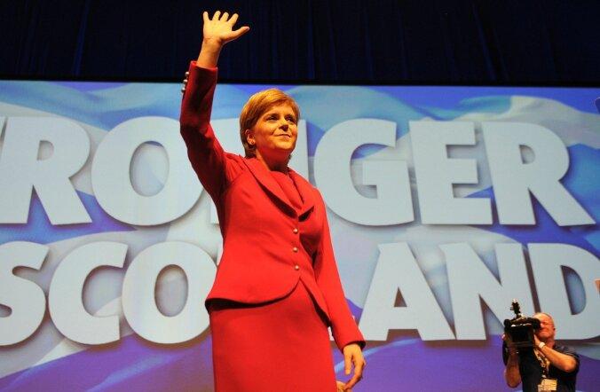 Šotimaa esimene minister Sturgeon taotleb uut iseseisvusreferendumit