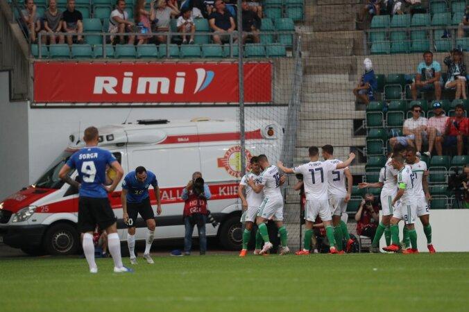 085e7a8f528 BLOGI   Paari minutiga taevast põrgusse: Eesti andis Põhja-Iirimaa vastu  eduseisu käest ning sai valusa kaotuse - Jalgpall