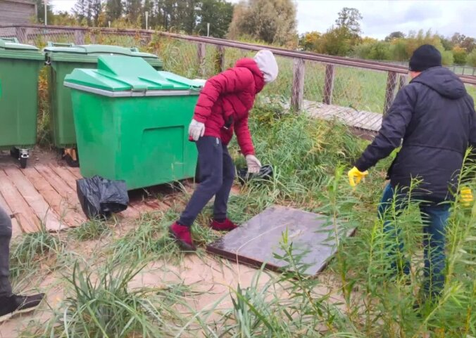 VIDEO ja FOTOD   Pärnu rannas koristati maailma