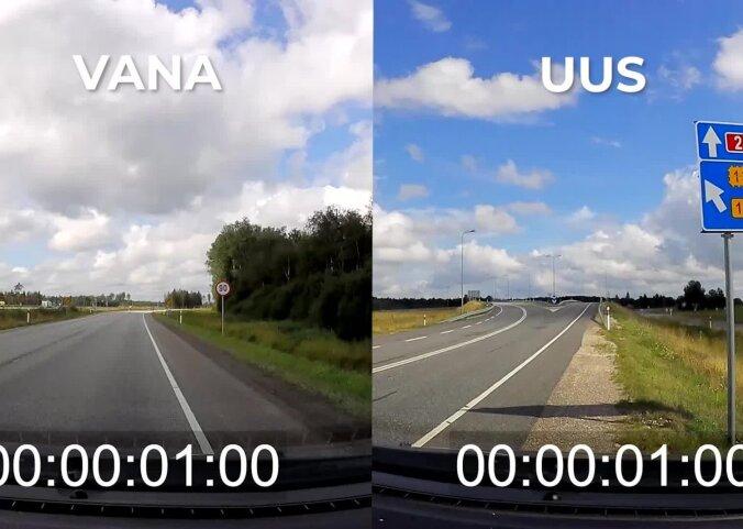 ENNE JA PÄRAST VIDEO | Uus Tallinna-Tartu maantee lõik toob mitmeminutilise ajavõidu