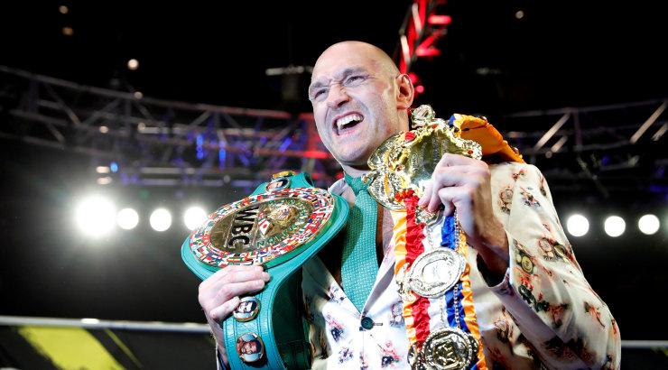 Kinnitatud! Fury ja Wilderi kolmas matš toimub oktoobris Las Vegases