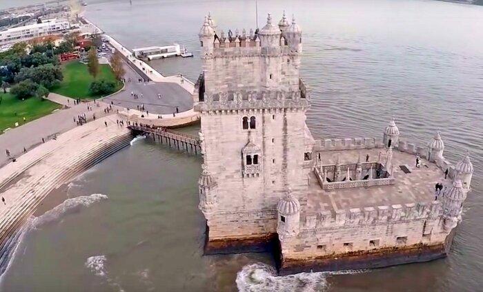 LUMMAV DROONIVIDEO: Lissabon linnulennult