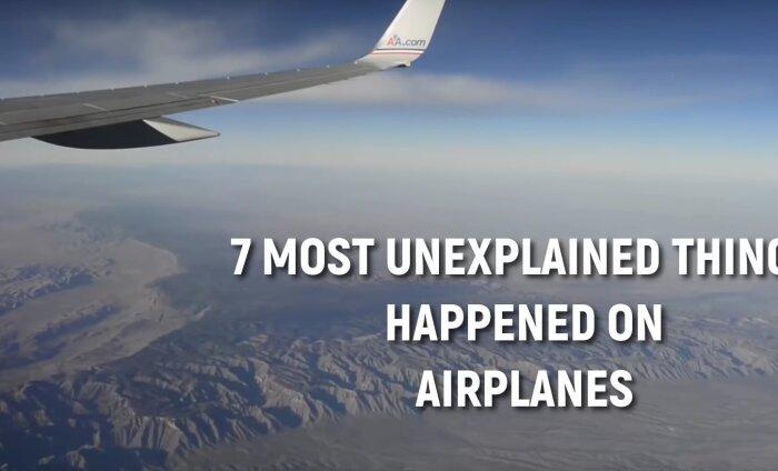 VIDEO | Seitse kõige imelikumat asja, mis on lennukites juhtunud