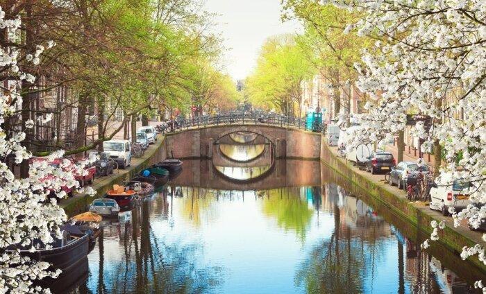 В Амстердаме введут самый большой в Европе туристический налог