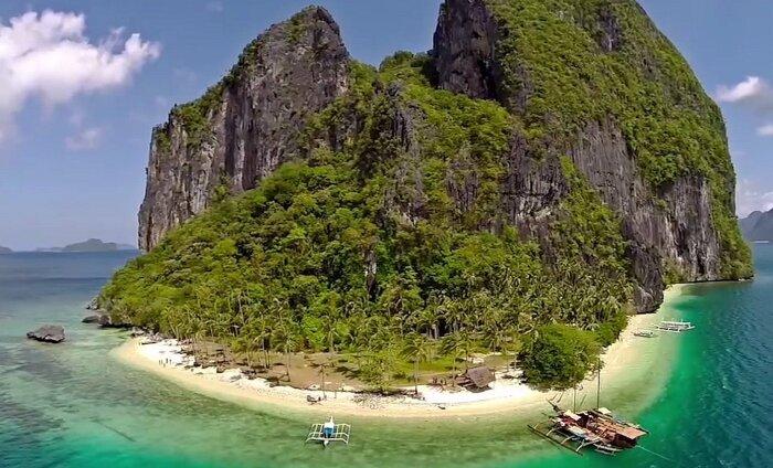 DROONIVIDEO: Kui kontoris tekib igatsus puhkuse järele, vaata Palawani videot