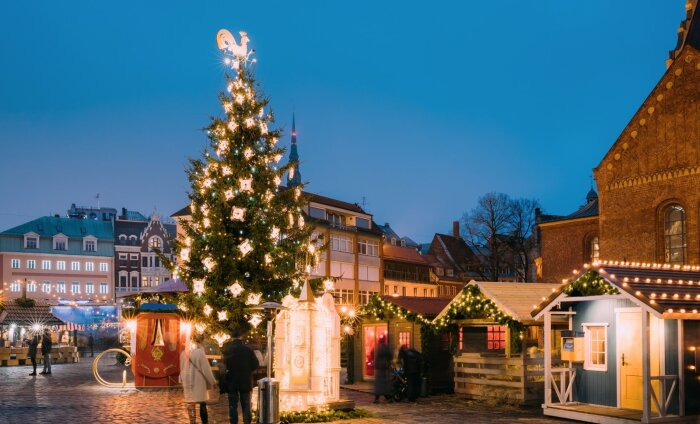 Рождественские ярмарки в Таллинне и Риге признаны самими бюджетными в Европе
