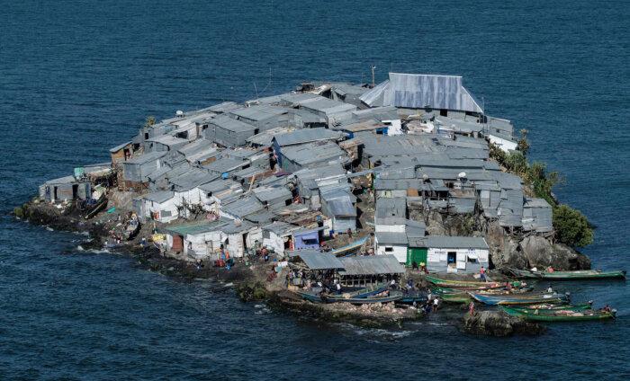 Мигинго — крошечный остров, где плотность населения в несколько раз выше, чем в любом другом городе мира