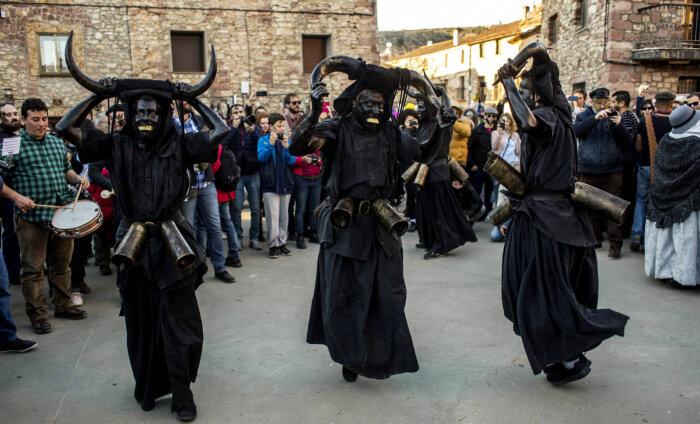ВИДЕО: В Испании прошел карнавал нечисти