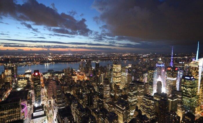 В Нью-Йорке появится плавучий парк