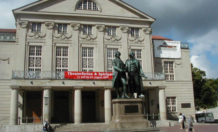 Веймар — город Гёте, Шиллера и Баухауса