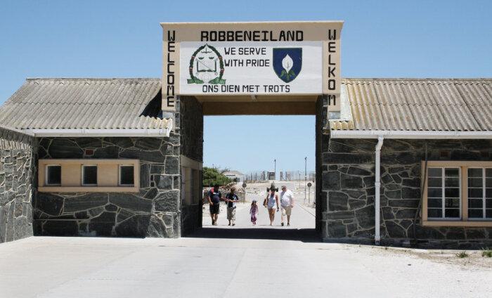 Robben Islandil Nelson Mandela jälgedes