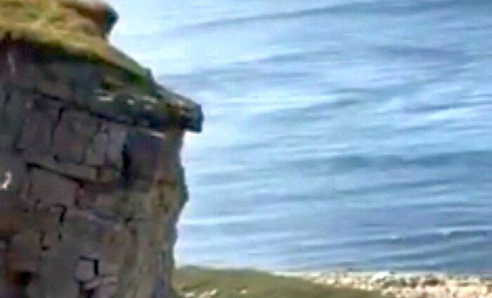 VIDEO: Ideaalne ajastus - turisti videopildile jäi pankranniku allavarisemine