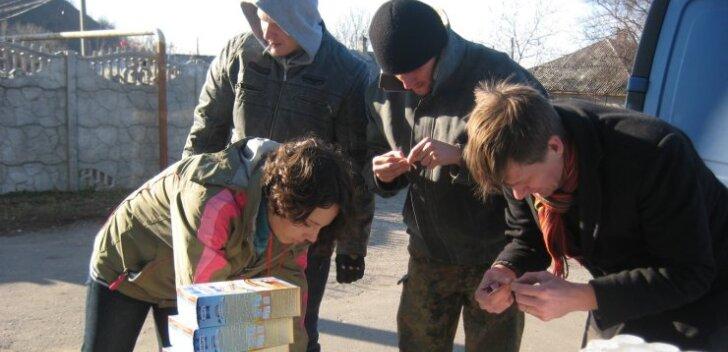 Eestlaste annetuste eest ostetud humanitaarabi Ukrainas
