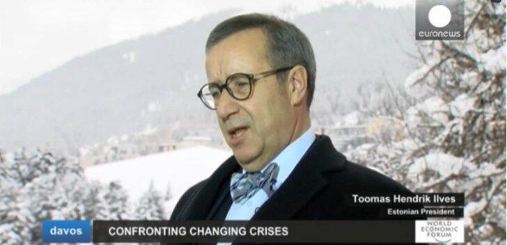 Ильвес — Euronews: Путин бомбардировками проложил себе путь к столу переговоров