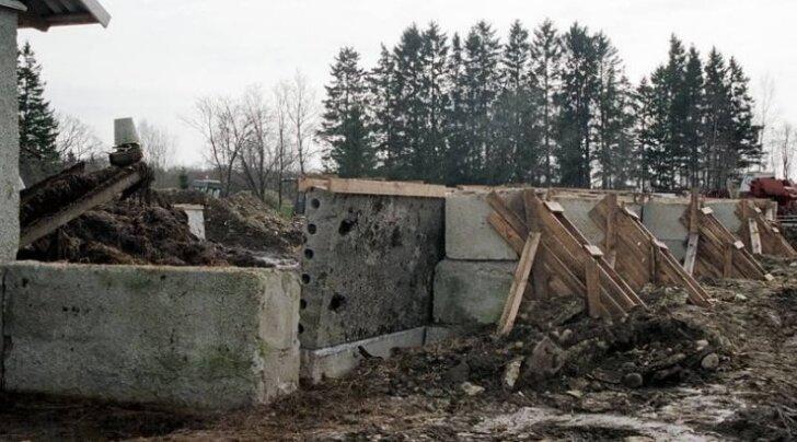 Vanad sõnnikuhoidlad tuleb renoveerida.
