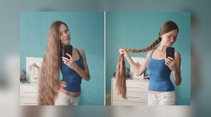 FOTOD: Instagramis kogub tuure inim-Rapuntsel, kelle juuksed ulatuvad põlvini