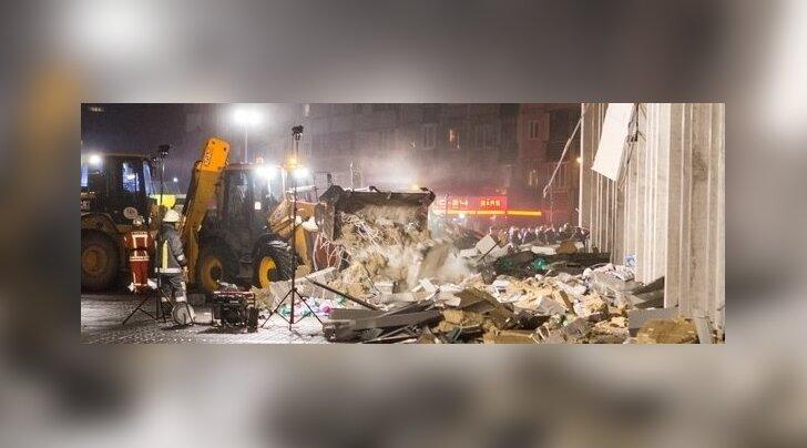 Päästja: kaubanduskeskuse betoonkonstruktsioonid olid kahtlaselt haprad