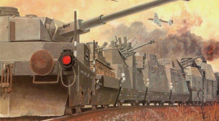 Kas tõesti pole soomusronge täna ühegi armee relvastuses?