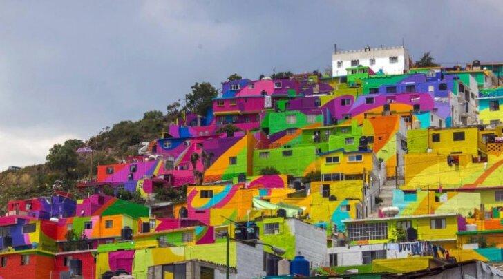 Как криминальные кварталы Мексики стали произведениями искусства
