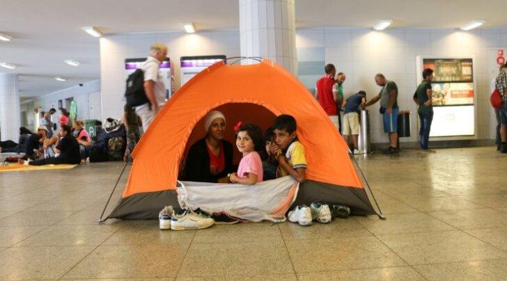 Эстония примет семь первых беженцев уже на следующей неделе