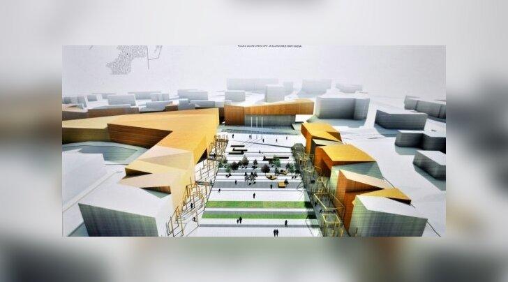 """Põlva keskus plaanitakse kujundada """"puulinnaks"""""""