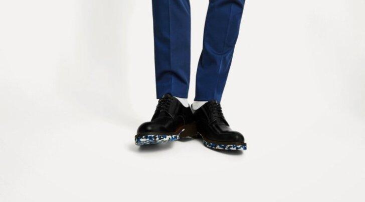 Mustriline tald teeb ka kõige tagasihoidlikuma kinga tõeliselt pilkupüüdvaks. Zara, 79.95