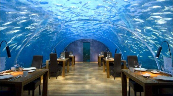 Järgmine peatus - Maldiivid. Gurmeeeineid pakutakse vee all!