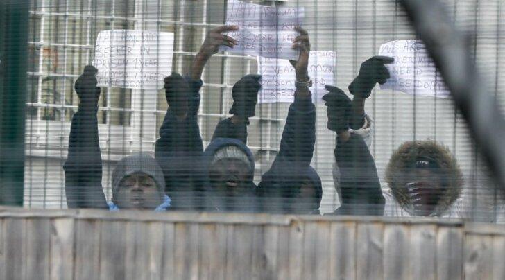 Harku kinnipidamiskeskuse asukad nõudsid enda paremat kohtlemist.
