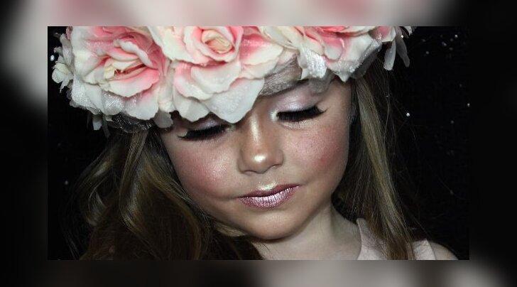 NETIHITT: Noor ilufänn teeb meigikunstnikele silmad ette! 6-aastase tüdruku meigivideod vallutavad internetti