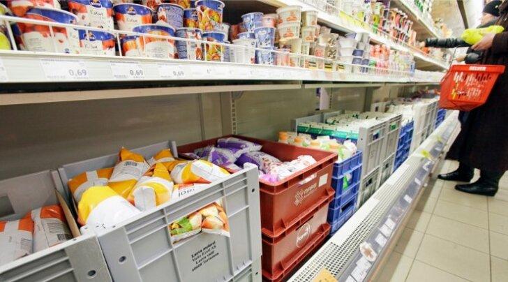 Voolukatkestuse tõttu riknes pool tonni jogurti toorainet