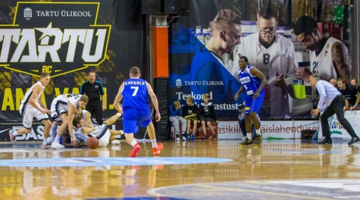 BC Tartu Ülikool vs BC Oberwart Gunners 18.10.16