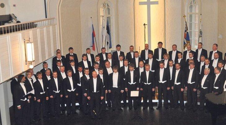 60 frakkides härrasmeest – ja kõik laulavad