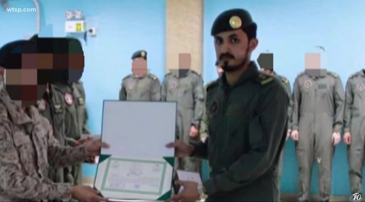 USA õhuväebaasis kolm inimest tapnud saudide sõdur sõimas Ameerikat selle sõjategevuse eest