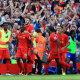 Liverpool tähistab Sadio Mane väravat