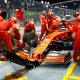Avastatud vead sundisid Ferrari F1-meeskonda muutma oma masinat