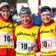 Eesti laskesuusatüdrukud jäid teatesõidus esimesena medalita