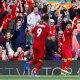 Mohamed Salah tähistab väravat