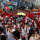Hongkongis tuli miljon inimest tänavatele nn väljaandmisleppe vastu protestima